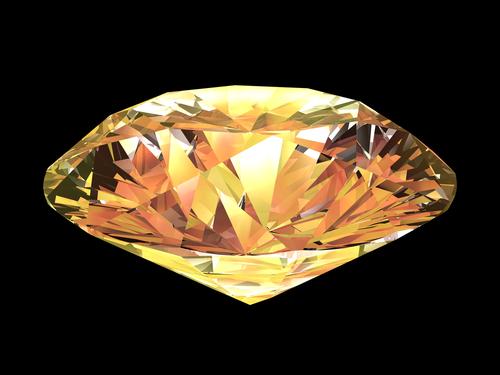 What is Unique about a Chameleon Diamond