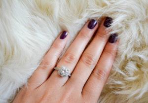 Diamond Band Engagement Rings